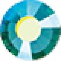 Aquamarine AB ♦ SS10 ♦ 1 Gross - 144pcs. ♦ Premium DMC ♦ FB HF Rhinestone